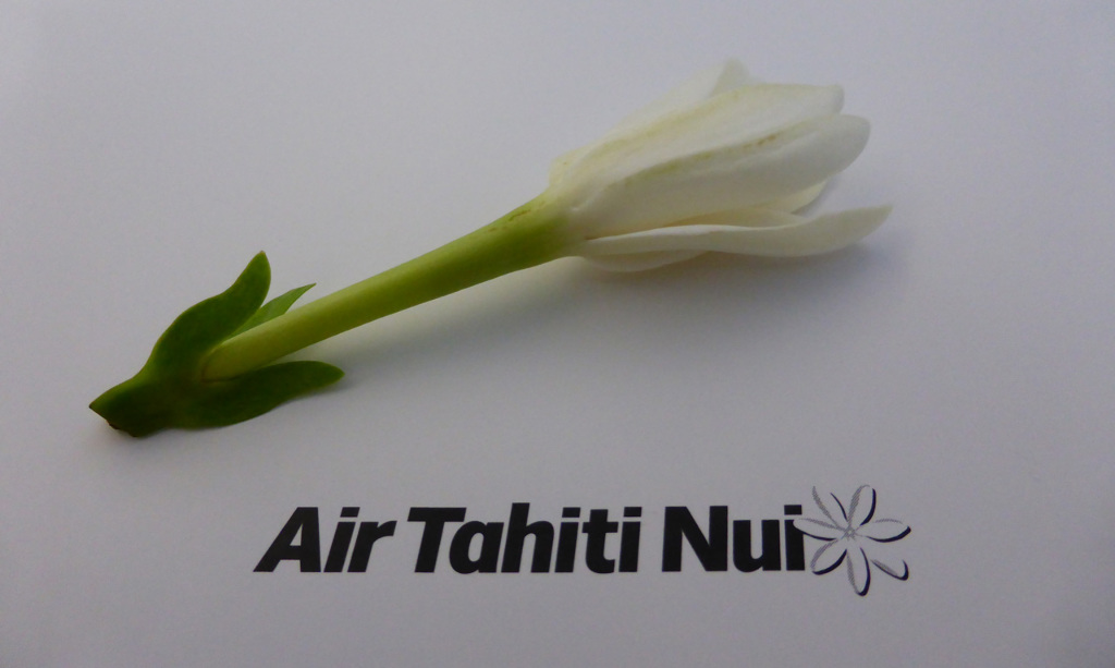 Review of Air Tahiti Nui flight from Los Angeles to Papeete