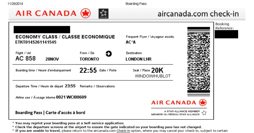 review of air canada flight from toronto to london in economy. Black Bedroom Furniture Sets. Home Design Ideas