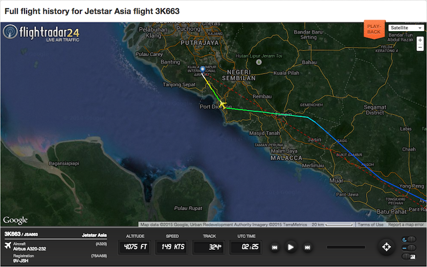 Review of Jetstar Asia Airways flight from Singapore to Kuala Lumpur ...